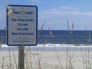Oak Island Beach Lover